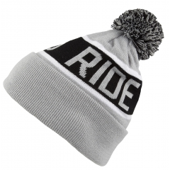 BORN TO RIDE Pompon Classic Roll Grey/Black