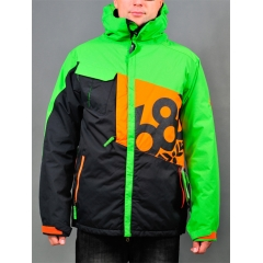 686 Iconic Insulated Jacket colorblock grass