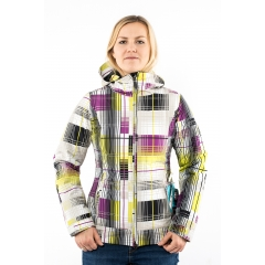 686 Echo Insulated Jacket orchid plaid