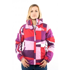 686 Mystic Insulated Jacket red fracture