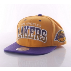MITCHELL & NESS Arch gradient adjustable snapback Los Angeles Lakers